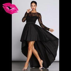 💋Beautiful Windsor Lace High-Low Dress